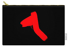 Carry-all Pouch featuring the digital art Tshirt 2 by David Lane