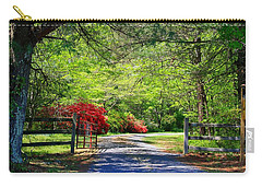 Carry-all Pouch featuring the photograph Tucked Away by Kathryn Meyer