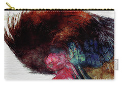 Carry-all Pouch featuring the photograph Tucked In For The Night by Claire Bull
