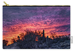 Tucson Sunrise Carry-all Pouch