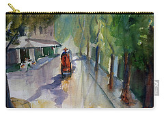 Tudo Street, Saigon 9 Carry-all Pouch by Tom Simmons