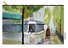 Tudo Street, Saigon11 Carry-all Pouch by Tom Simmons