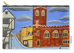 Tudor House In Exeter  Carry-all Pouch