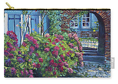 Tudor Hydrangea Garden Carry-all Pouch