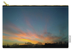 Carry-all Pouch featuring the photograph Tuesday Sunrise by Anne Kotan