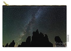 Carry-all Pouch featuring the photograph Tufa Nights by Charles Garcia