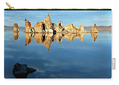 Tufa Reflection At Mono Lake Carry-all Pouch