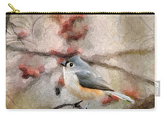Tufted Titmouse 2 Carry-all Pouch