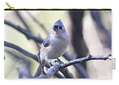 Tufted Titmouse Carry-all Pouch by Trina Ansel