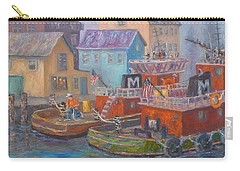 Tug Boats Portsmouth Maritime Painting Carry-all Pouch