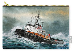 Tugboat Hunter Crowley Carry-all Pouch