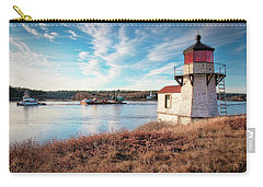 Tugboat, Squirrel Point Lighthouse Carry-all Pouch