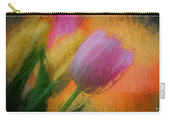 Tulip Abstraction Carry-all Pouch