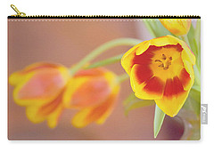 Tulip Beauty Carry-all Pouch by Deborah  Crew-Johnson