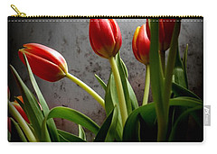 Tulip Bouquet 2 Carry-all Pouch by Mary-Lee Sanders