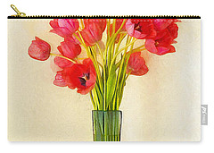 Tulip Bouquet Carry-all Pouch
