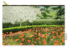 Carry-all Pouch featuring the photograph Tulip Cafe by Diana Angstadt