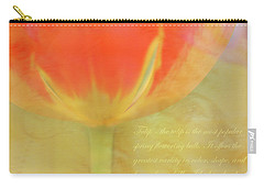 Tulip Carry-all Pouch by Catherine Alfidi