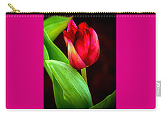 Tulip Caught In The Light Carry-all Pouch