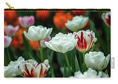 Tulip Flowers Carry-all Pouch