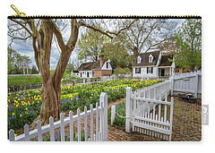 Tulip Garden Colonial Williamsburg  Carry-all Pouch
