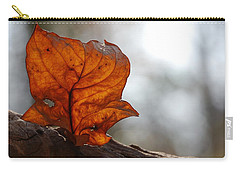 Tulip Leaf  Carry-all Pouch by Jane Ford