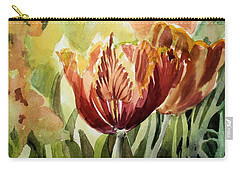 Tulip Light Carry-all Pouch by Mindy Newman