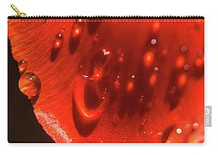 Tulip Petals After A Rain-2197 Carry-all Pouch