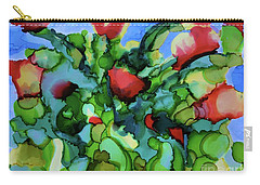 Tulip Poppy Carry-all Pouch