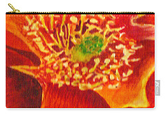 Tulip Prickly Pear Carry-all Pouch
