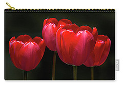 Tulip Quartet Carry-all Pouch by Michael Friedman