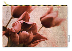 Carry-all Pouch featuring the photograph Tulip Whimsy by Jessica Jenney