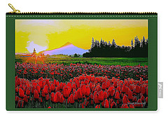Tulip Sunrise Carry-all Pouch by Steve Warnstaff