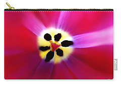 Tulip Vivid Floral Abstract Carry-all Pouch