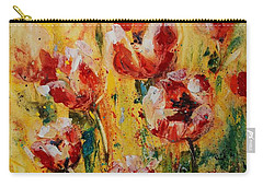 Tulip Waltz Carry-all Pouch