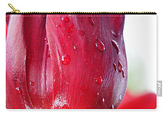 Tulip With Dew Carry-all Pouch