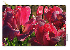Tulips 5 Carry-all Pouch by Steve Warnstaff