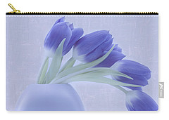 Tulips And Birdies  Carry-all Pouch