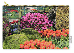 Tulips And Rhodies Carry-all Pouch