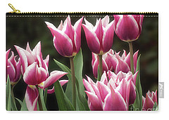 Tulips Bed  Carry-all Pouch