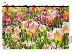Carry-all Pouch featuring the photograph Tulips  by Charles Garcia
