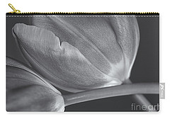 Tulips Crossed Carry-all Pouch by Rachel Cohen