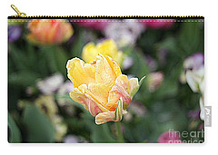 Carry-all Pouch featuring the photograph Tulips by Diana Mary Sharpton