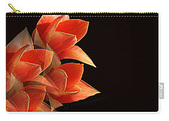 Tulips Dramatic Orange Montage Carry-all Pouch