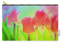 Tulips In Abstract 2 Carry-all Pouch