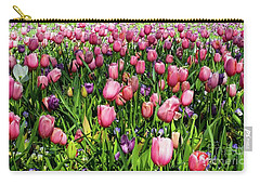 Tulips In Bloom Carry-all Pouch