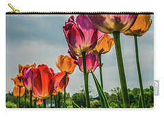 Tulips In The Spring Carry-all Pouch by Jane Axman