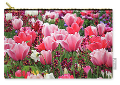 Carry-all Pouch featuring the photograph Tulips by James Eddy
