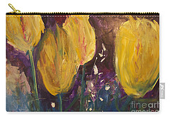 Tulips Carry-all Pouch by Gallery Messina