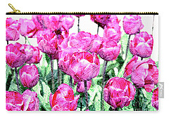 Tulips  Carry-all Pouch by Patricia Hofmeester